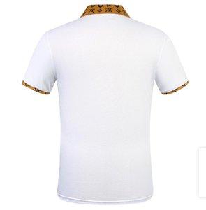 Summer new brand designer men's wear designer T-shirt embroidery casual short sleeve T-shirt casual clothing
