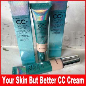CC Creme Gesicht Make-up Ihre Haut aber besser CC + Creme Oil Free Matte poreless Fertig Full Coverage Feuchtigkeitsspend 32ml