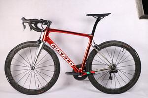 Costelo speedmachine3.0 komple bisiklet karbon yol bisikleti bici completa bisiklet çerçeve groupset tekerlek bicicleta bisiklet grubu DI2