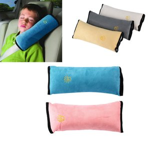Baby Auto Stroller Pillow Safety Belt Protect Shoulder Pad adjust Seat Belt Cushion for Kids Protection Car accessories Covers