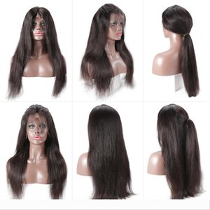 Straight Lace Frontal Human Hair Wigs Free Part Brazilian Hair Wig Pre Plucked Natural Hairline 13*4 Human Hair Wigs