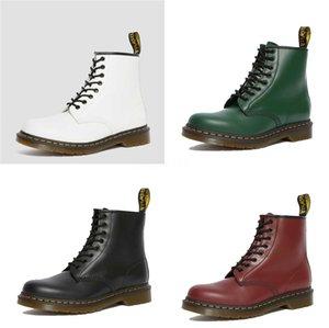أحذية الشتاء القوطية الرجال منصة أحذية الثلج زبدة نباتية الحصان الفراء حقيقية الجلود أحذية الكاحل ذكر السامي الأعلى ربط الحذاء حتى سلامة العمل رقم 546