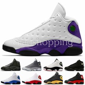Nouveau 13 13s Lakers Hommes Chaussure De Basket-ball De Créateur De Jumpman Sneakers Elevé Chicago Panier Michael Sports 23 Entraîneurs Avec Box Des Chaussures US13