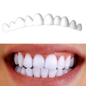 1 Box 2 pezzi dentali impiallacciature per denti impiallacciature Sorriso falsi impiallacciature estraibili su Denti Kit Dente Fix Natural Color