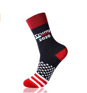 2020 Trump Briden Stripes Mid-теленок носки мужских Люди женщина хлопок носки президент Donald Trump Happy Socks