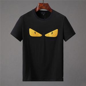 2019 nuevo diseñador de moda ropa Europa Italia cooperación Roma edición especial camiseta hombre mujer casual algodón camiseta top