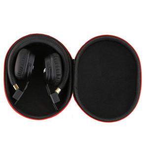 Anti EVA choc écouteurs Sac de transport Housse de protection rigide anti-choc Housse pour carte SD TF casque filtre objectif