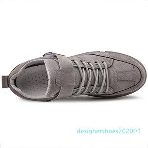Moda primavera calzados informales 50% Ulzzang zapatillas hombres zapatos de suela plana de la cuerda del color sólido del otoño resistente calzado zapatillas de deporte del patín Suedette