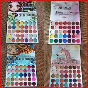 GELANZ 35 gamma di colori pressato trucco glitter ombre tavolozza opaca e Shimmer Eye Shadow Palette Make up 4 stili