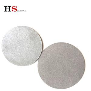 Yakıt hücre için örnek titanyum köpük yuvarlak plaka, 10 mikronluk Sinterlenmiş Titanyum köpük Sac Levha Disk Tüp