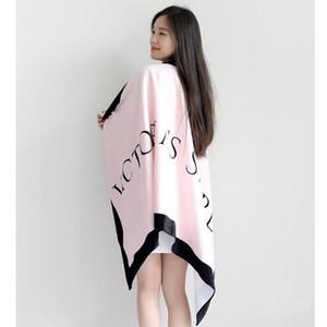 Designer-Promozione asciugatura rapida Telo Telo micro fibra in pile Yoga Coperta Victoria asciugatura Washcloth Costumi da bagno doccia B268