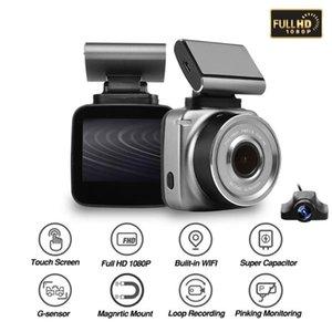 Anytek Q2 nuovi DVR auto DVRS FHD 1296P WIFI Video Recorder camma macchina fotografica del precipitare ADAS LDWS supporto magnetico