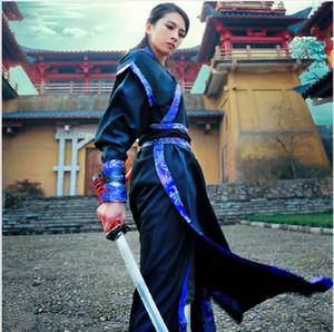 Costumes de danse folklorique Hanfu Costume Han Dynasty Vêtements homme Vêtements femme Tang Ancient Chinese Traje Robe Chino