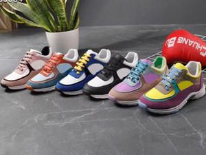 Sapatilha Sapatos casuais Melhor Qualidade Formadores Moda calçados esportivos Formadores Sapatos de grife Eu: 35-41 Com caixa fina Livre DHL XNE02