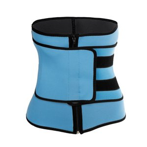 Men Women Tummy Waist Trainer Cincher Sweat Belt Trainer Hot Body Shaper Slim Shapewear Sweat Belt Waist Cincher Trainer