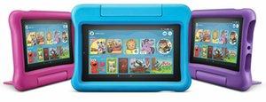 Nuovo Amazon Fuoco 7 bambini Edizione Tablet 16GB, 7 pollici dello schermo più recente 2019 UK Modello
