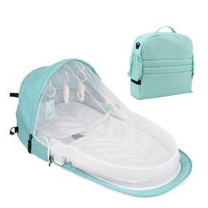 Di corsa del bambino portatile mobile della greppia del bambino del nido Cot multifunzione Newborn pieghevole pieghevole Bambino Presidenza Con Giocattoli zanzariera
