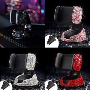 Universal Car Phone Holder Air outlet Windshield Holder Glitter Diamond Car Bracket High Quality Free Shipping