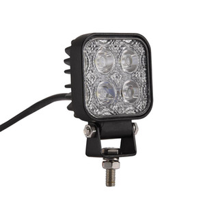 3inch 12W Car Lights LED Work Lights Engineering Lights Motorcycle Spotlights Electric Light Truck Auxiliary Light Front Bar Fog Light