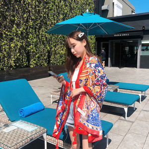 2019 new style fashional big size beach scarf cotton and linen scarves national wind seaside sunscreen shawl thin