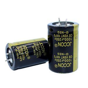 JCCON Thick-foot electrolytic capacitor 250v1000uf volume 30x45 Inverter power