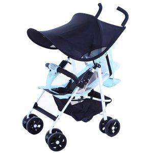 Baby Stroller Sun Visor Anti-uv Sun Sheild Shade Canopy Cover Cap for Prams Pushchair Car Seat Carriage Accessories Cap Sun Hoo