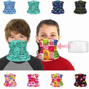 Детская маска для лица детская защитная маска открытый Велоспорт волшебный шарф бандана повязка на шею гетры Балаклава тюрбан ZZA2377