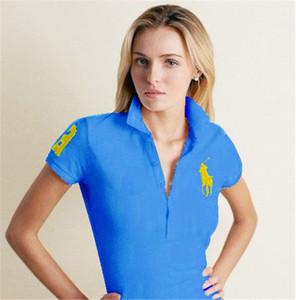 2020 Sommer Designer-Luxus-Kleidung für Herren Polo Stickerei Blumen Biene Schlange Hals-T-ShirtRalph Lauren lässig Umlegekragen tee s