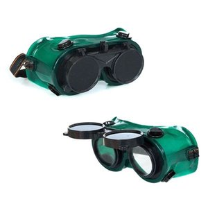 Sécurité soudure Goggle Flip Up Lunettes de soudure Soudeur Objectifs Double Bouclier Protect