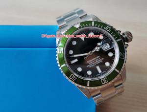 2 Color vendedor caliente de calidad superior de la PA 40 mm Fabricante de la vendimia 16610 16610LN 16610LV 50ht Aniversario de Asia 2813 movimiento automático del reloj para hombre Watche