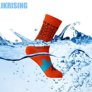 Calcetines impermeables Jkrising Profesional a prueba de viento Transpirable Coolvent Hombres Mujeres Invierno SocksQ190401