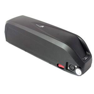 Batería Hailong e bike de calidad superior 48V 17AH con USB 5V para motor 750W 1000W con cargador 2A