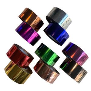 3cm 120meter / Rolls Or Argent Hot Foil marque papier papier kraft Emboutissage 12colors fer chaud machine de presse de chaleur