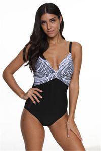 Plus Size abiti estivi Womens Swimwear signore con scollo a V a vita alta bikini femminile di moda di balneazione