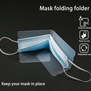 Складная одноразовая пылезащитная маска ящик для хранения маска для лица Хранитель держатель PM2.5 рот маска для лица хранения клип мультфильм аксессуары LJJA3892