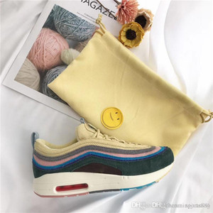 Newest Sean Wotherspoon x 97 VF SW Hybrid Running Shoes For Men Women Authentic Quality 97 1 Sports Sneakers With Original Box US 5.5-12