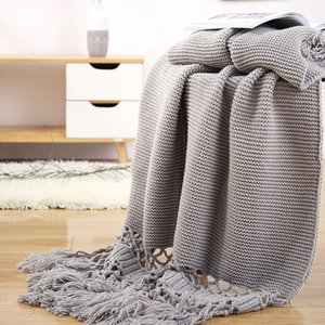 Characteristic Luxury Throw Blanket Sofa Decorative Leisure Slipcover Cobertor Stitching Shawl Solid Blankets For Beds Flag