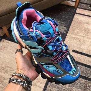 Paris Fashion 17fw papà scarpe Triple S Mens Women Casual Shoes Traccia 3.0 Sneakers Espadrillas Chaussures De Sport pour hommes