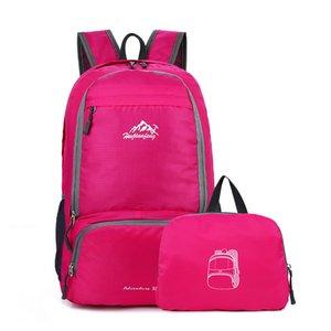 Travel Climbing Backpacks Men Women Bags Waterproof Hiking Backpacks Outdoor Camping Sport bag Backpack Folding Casual bags