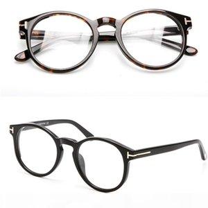 Spectacle Frames Brand Vintage Round Eyeglasses Frame with Clear Lens Optical Glasses Frames Myopia Eyegwear Men Women with Original Box