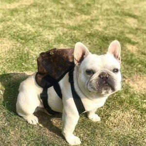 Классические печатные рюкзаки для домашних животных High Street Personality Charm Pet плечи сумки подарок на День Рождения для Бульдога плюшевые сумки