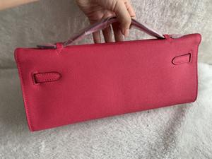 Hot Mulheres Clutch Purse Bag Alligator envelope Bolsas Handbag Platinum saco de moedas bolsa carteira Genuine Leather Tote Bolsa