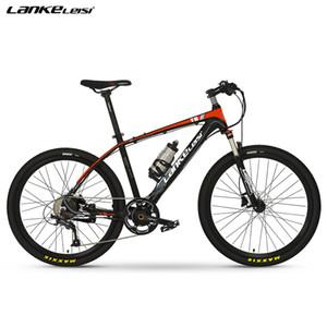 """높은 품질 LANKELEISI 36V 6.8AH L G 리튬 배터리와 PAS 전기 자전거 26 """"전기 산악 자전거"""
