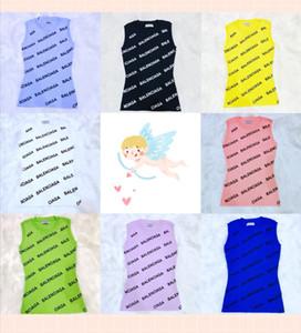 مصمم المرأة بلا أكمام ملابس مثير العلامة التجارية سترة قميص الصيف سليم صالح نساء العلامة التجارية الأعلى تيز حك النساء مثير حزب سترات واقية 2020707K
