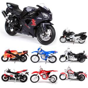 Maisto 1:18 Motocicleta Juguete Aleación Moto Modelo YZF R1 R6 FJR 1300 YZ 450F Colección Road Star Niños Juguetes Coches Regalo