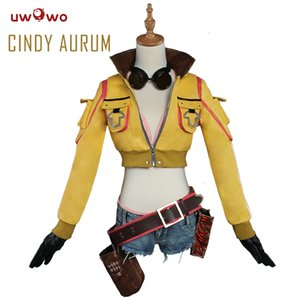 UWOWO Cindy Aurum Final Fantasy Cosplay FF15 FFXV costume Anime Final Fantasy Cosplay Cindy Aurum Donne CostumeMX190921