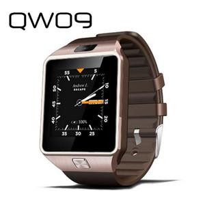 New QW09 Android 3G intelligente Orologio Bluetooth orologio da polso Dual Core 512 MB di RAM 4GB ROM Pedometro 3G Smartwatch telefono di qualità PK alta DZ09