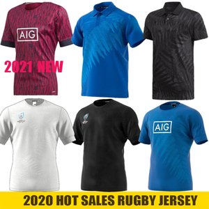 2021 all blacks rugby maglia Pantaloncini casa Fuori Training T-shirt maillot de rugby 2020 Big Size 4XL 5XL