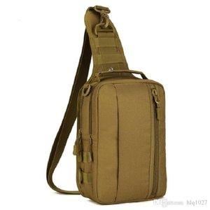 Spalla esterna all'ingrosso multifunzionale di nylon Wading pacco petto Croce Body Bag Sling singolo tattico della cassa Bag 1000D di trasporto