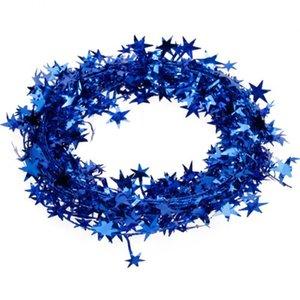 23 piedi Stella Tinsel Garland Decorazione di Natale